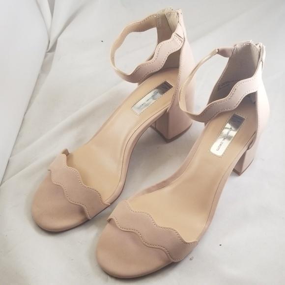 f56a3eed38c6f I.N.C. 9M Women's Hadwin Scallop Two-Piece Sandals Boutique